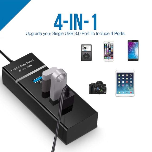 Business Accessories & Gadgets Laptop Accessories 4 Ports USB