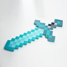 60 см Высокое качество Безопасный EVA мечи идеально Minecraftedt мечи со стразами с длинными Ножи экшн вечерние игрушки рождественские подарки для детей