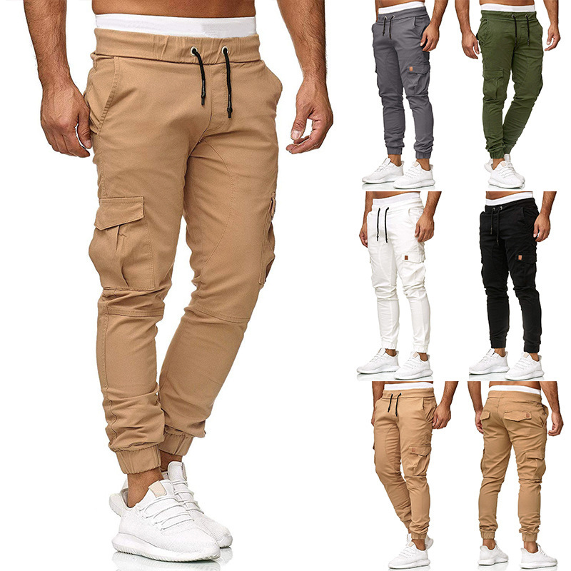 New Men Military Tactical Cargo Cotton Pants Men Army Tactical Sweatpants High Quality Working Men Clothing Pant Dropshipping