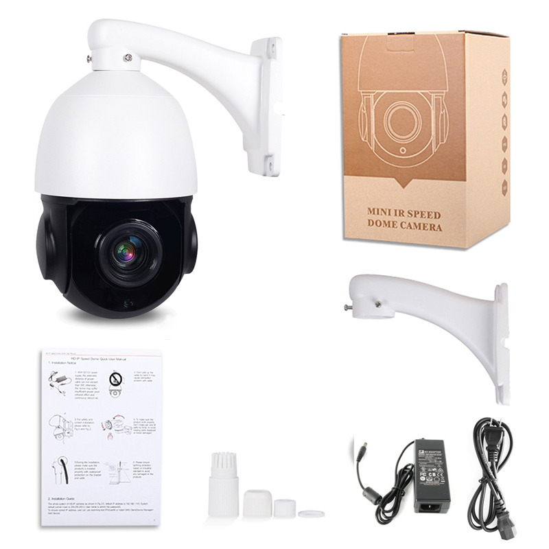 4 5 inch 1080P AHD PTZ Camera Dome 2MP 30X Zoom IR 50M Security CCTV AHD Camera Outdoor Weatherproof Video Surveillance Camera in Surveillance Cameras from Security Protection