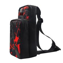 Chest Bag Crossbody Casual Back Pack Shoulder Bag Excellent ABS Plastics Prolonged Durable Fit for Nintend Switch Lite
