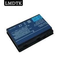 Bilgisayar ve Ofis'ten Dizüstü Bilgisayar Bataryaları'de LMDTK yeni 6 hücreleri laptop batarya için TravelMate 5320 5520 5720 7520 7720 serisi CONIS71 GRAPE32 TM00741 ücretsiz kargo