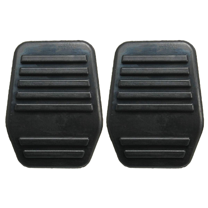 2X New Pedal Pads Rubber Cover For Ford Transit Mk6 Mk7 2000-2014 6789917