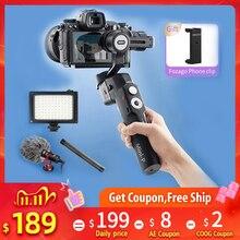 Moza 미니 P 3 축 핸드 헬드 짐벌 스마트 폰 안정기 for iPhone Gopro hero 6 8 액션 카메라 Sony A6400 a7 PK G6 Max