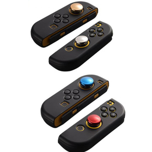 Image 1 - Chrome Plating Thumb Grips Cover for Nintend Switch NS Lite Joy Con Analog Stick Cap for Nintendo Switch Lite 2019 Joystick Grip