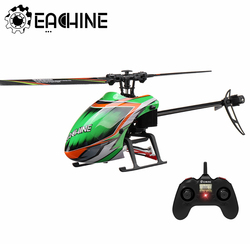 Eachine E130 RC Helicopter 2.4G Core Motor 4CH 6-Axis Gyro Altitude Hold Stable 15 minutes Flight time Flybarless Nylon RTF Toys