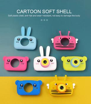 Aparat fotograficzny dla dzieci aparat cyfrowy Hd 2 Cal aparat fotograficzny dla dzieci zabawki dla dzieci prezent urodzinowy 1300w zabawki dla dzieci aparat fotograficzny tanie i dobre opinie Skatolly CN (pochodzenie) 1080 p (full hd)