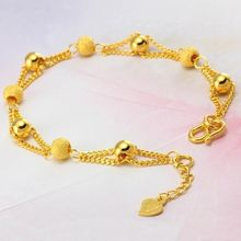 Lady позолота браслет из бусин для Женская мода Дружба Браслеты
