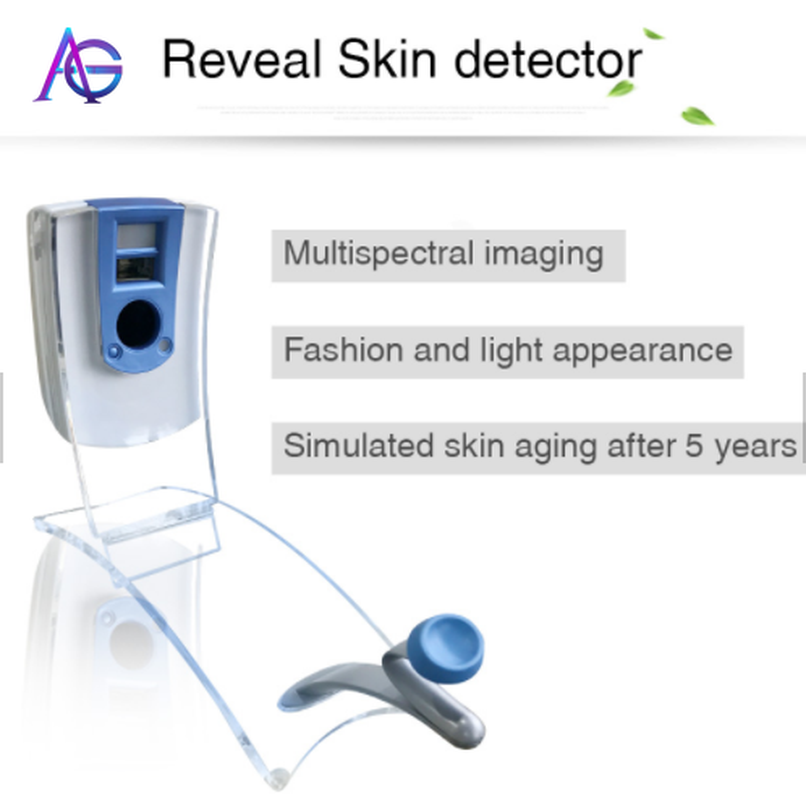 Digital Skin Tester Machine Facial Skin Analyzer Machine Smart Hot Selling For Home And Beauty Salon Use