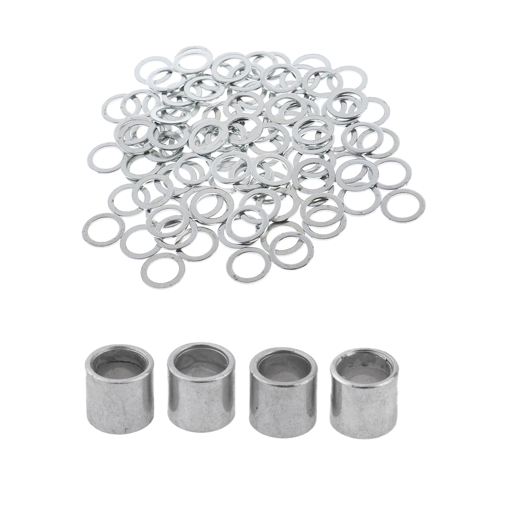 Skateboard Speed Kit: Bearing Spacers And Speed Washers (for Bearings, Trucks And Wheels)