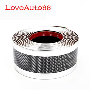 Image 4 - Tira amortecedor do carro protetor do peitoril da porta borda guarda adesivos de carro estilo do carro acessórios para audi a3 a4 a5 a6 a7 a8 q3 q7