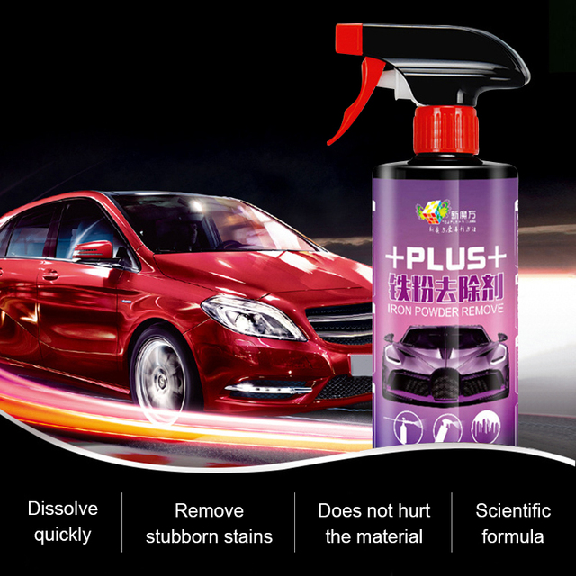 500ml מכונית סגסוגת גלגל ספריי לניקוי חלודה Remover עבור צבע אוטומטי בצור חישוקים צמיג טיפול המפרט כביסה כלים אבזרים