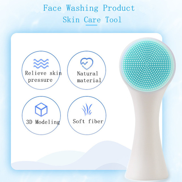 Double-sided Silicone Facial Brush 6