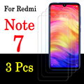 3 шт. Redmi Note 7 Защитное стекло для Xiaomi Redmi Примечание 7 Pro фотоаппаратов моментальной печати 7s закалённое Защитное стекло для экрана Xiomi Redmi note7 н...