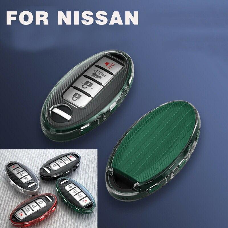 Чехол для автомобильного ключа из ТПУ для Nissan Altima 370Z GT-R Maxima Rogue X-Trail T31 T32 Versa Sentra Juke Micra Infiniti Q30 Q50