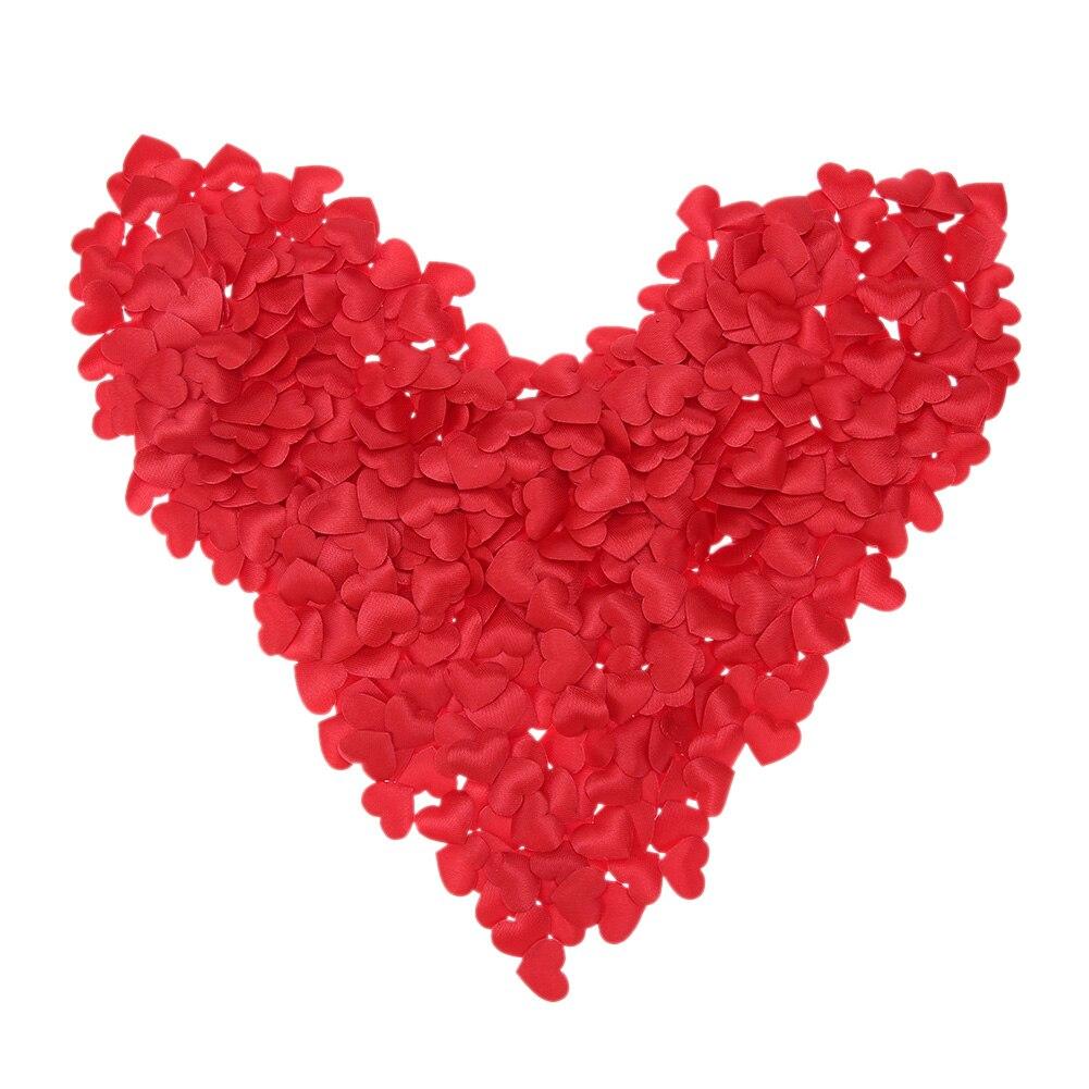 100 шт./компл. шелковые розы любви губка в форме сердца лепестки Романтический Кровать Декор свадебные принадлежности