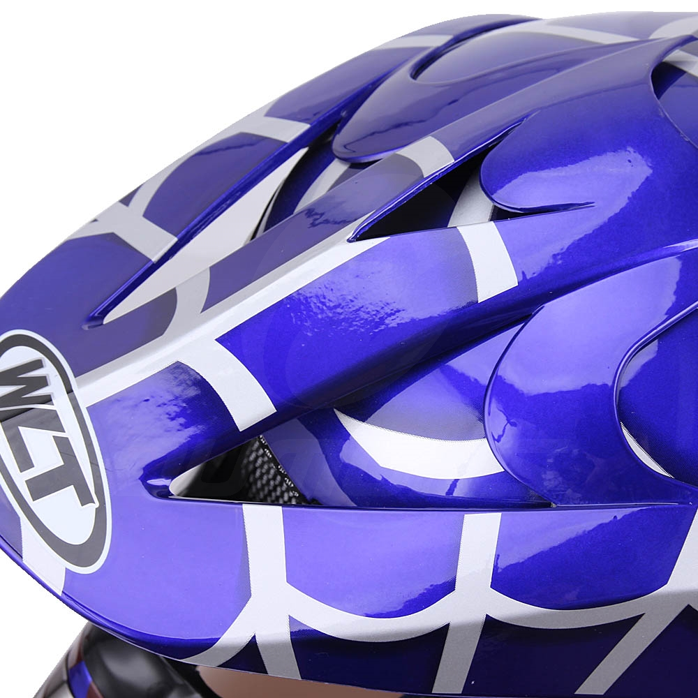 OUMURS DOT Cool Web Style Motorcycle Children Helmet 10