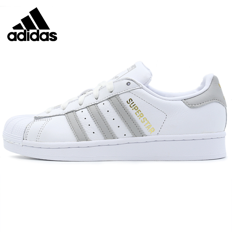 Original Adidas New Arrival SUPERSTAR W Womens Sports Shoes Outdoor Sneakers Skateboarding Shoes B42002 image