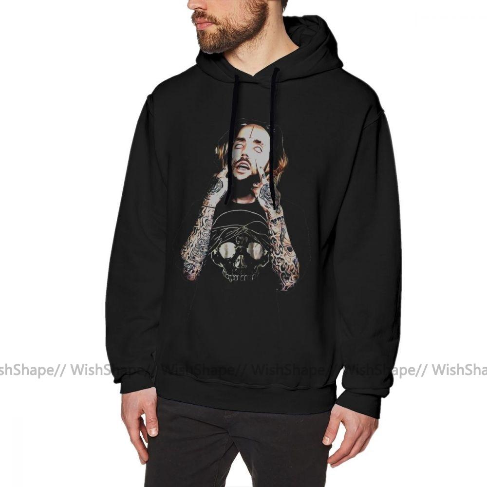Ftp Hoodie SuicideBoys Scrim Hoodies XL Cotton Pullover Hoodie Casual Winter Streetwear Red Long Men Hoodies