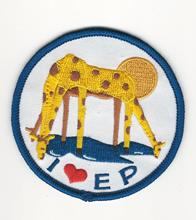 Woven label patch Embroidered patch patch Personalized customization service Products :i love ep