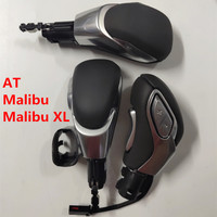 Real Genuine Leather AT Gear Shift Knob for Chevrolet Malibu Malibu XL Automatic Transmission GearShifter Pen Gearknob Maribu Gear Shift Knob     -