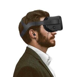 Image 2 - VR oyun kulak kulakiçi kablolu kulaklık Oculus görev VR kulaklık aksesuarları kablolu kulaklıklar sol sağ ayırma