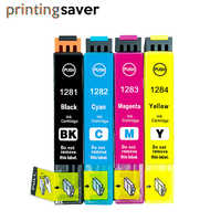 4x T1281 T1282 T1283 T1284 T1285 ink cartridge for epson Stylus S22 SX125 SX130 SX230 SX235W SX420W SX425W SX430W SX435W SX445W