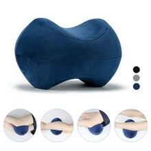 Ортопедическая подушка на колено из пены с эффектом памяти для сна, Ортопедическая подушка для спины, тазобедренного сустава, боковая подушка для сна, подушка для поддержки ног