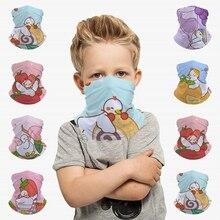 Tube Scarf Accessories Headband Face-Mask Kids Balaclava Clothing Duck Fruit