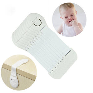 Baby Infant Safety Door Drawer Locks Finger Safe Protector Kids Safety Plastic protection safety lock