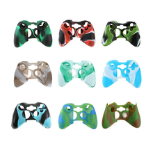 цена на For Xbox 360 Controller Silicone Protective Case Skin Cover Anti-Slip Rubber Soft Protector Case For Xbox360 Gamepad Accessories