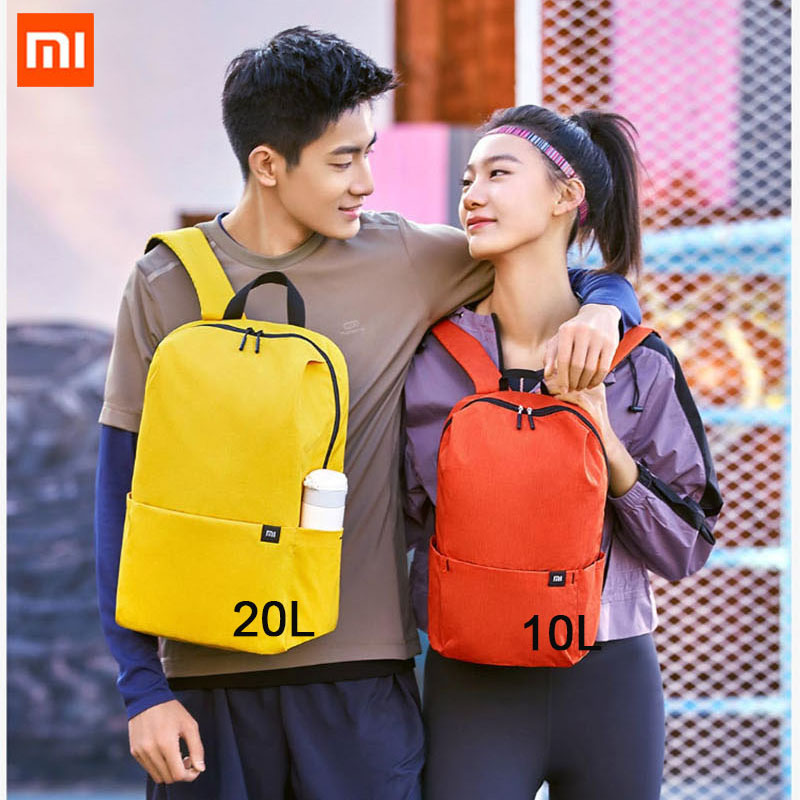 Xiaomi 7L 10L Waterproof Bag Backpack Women Men 10inch Laptop Bag Level 4 Water Repellent For Student Trave Camping|Smart Remote Control| - AliExpress