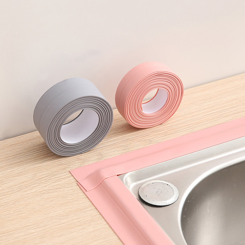3.2m Bathroom Kitchen Sealing Tape Crevice Strip Wall Mold Waterproof Tape Adhesive Tile Crack Repair Mildew Sealant Tape