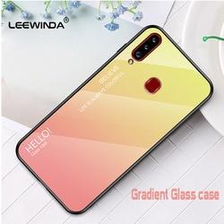 На Алиэкспресс купить стекло для смартфона for samsung galaxy m80 m30s m20 m10 a21 a20s a20e a10s a10e a10 a01 phone case gradient glass hard shell full anti-fall cover