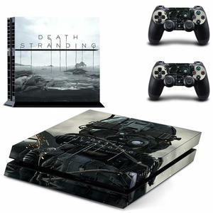 Image 5 - Mort toronnage PS4 autocollant de peau autocollant vinyle pour Sony Dualshock Playstation 4 Console et contrôleurs PS4 autocollant de peau