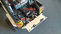 Aluminum CNC JKMAX Tail Door For Rc Crawler Car JK MAX Upgrade Part