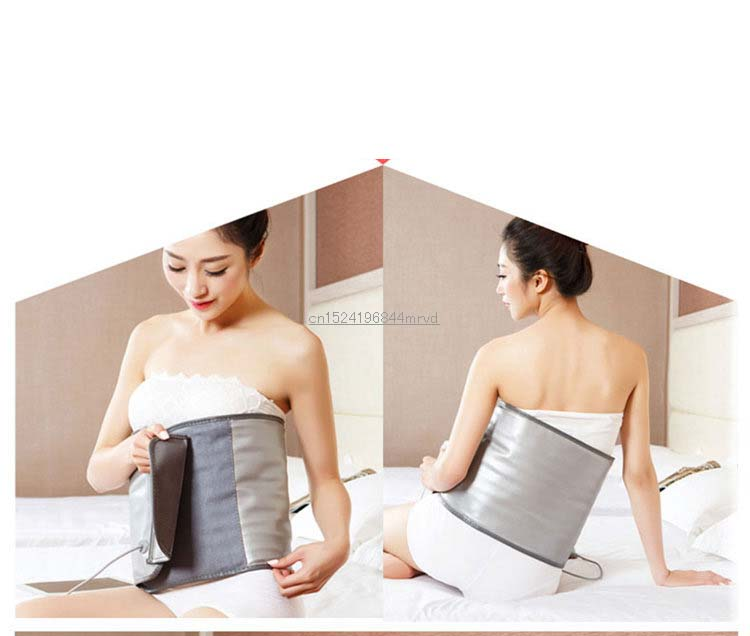 NEW Far infrared Waist Trimmer Exercise Belly Belt Slimming Burn Fat Sauna Weight Loss fat shaping burning abdomen reduce belly 3