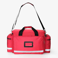 Sac de premiers soins grande capacité multi-poches kits d'urgence en plein air Portable voyage ménage incendie sac médical d'urgence
