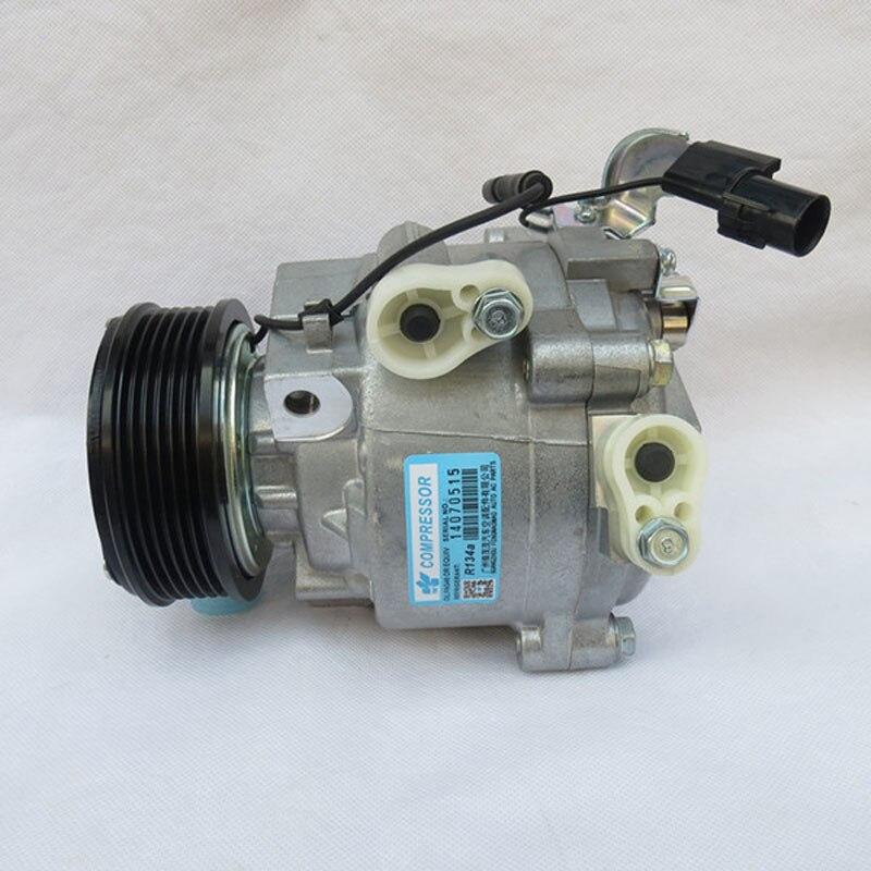 AC Compressor /& A//C Clutch For Mitsubishi Lancer Outlander Replaces QS90