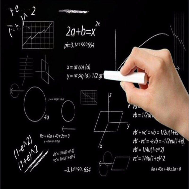 45x100cm Blackboard Sticker Removable Demolition Graffiti PVC Wall Green Learning Office Stationery Erasable Paste Sticker 1pc