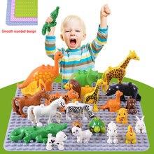 Qunlong duży rozmiar płyta podstawowa duża płyta podstawowa 404 punktów Exlarge Brick solidna płyta zabawki kompatybilne wszystkie marki duży blok zabawki