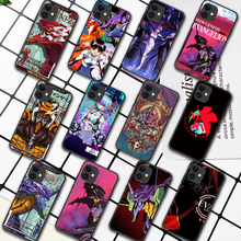 Genesis Evangelion NGE EVA Phone Case For iPhone 5 5S SE 2020 6 6S 7 8 Plus 11 12 Mini X XS XR Pro Max black Prime Trend Cover