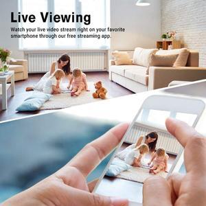 Image 5 - אבטחה אלחוטית מצלמה, 1080P WiFi סוללה מצלמה עם דו כיוונית אודיו, IR ראיית לילה, PIR חיישן תנועה, פנימי/חיצוני