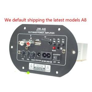 Image 3 - Kyyslb JW A8 100 ~ 200 w 가정용 오디오 차량용 앰프 12v24v220v 발열 클래스 서브 우퍼 전력 증폭기 보드 카드 usb 원격 제어