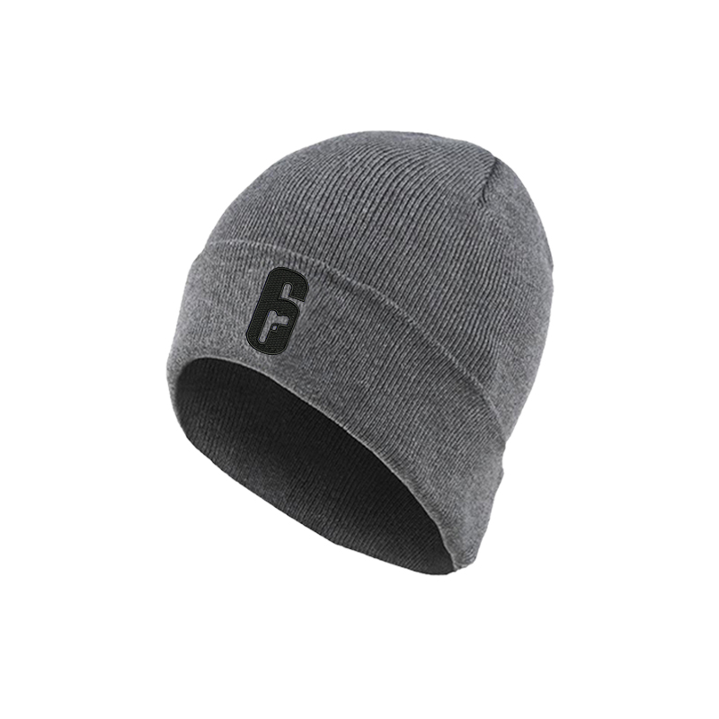 Tom Clancy's Rainbow Six Siege Embroidered Fashion Beanie Knitted Winter Hat Cap Cosplay Accessory Gifts