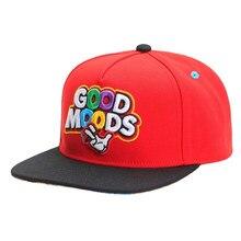 New Good Moods embroidery baseball Cap Cotton Hip Hop snapback hat for Men Women adult outdoor sports casual caps sun hats gorra