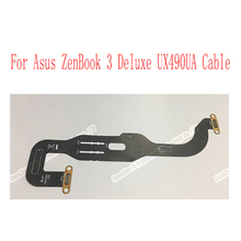 Para asus zenbook 3 deluxe ux490 ux490ua ux490uar painel fpc2 t64275w3 1708 conector cabo de vídeo lcd display led cabo