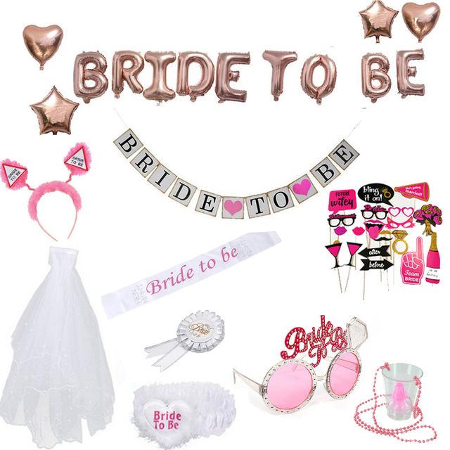 Bachelorette Party Decorations Set