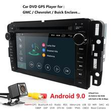 "Hizpo 7"" Android 9.0 2Din Head Unit Car Radio Car DVD Multimedia player For GMC Chevrolet Buick SIL VERADO REGULAR/EXTENDED/CREW(China)"