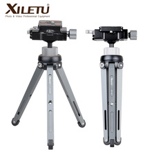XILETU XT 15 + BS 1 Kamera Telefon Stehen Leichte Tabletop Mini Stativ Für Smartphone DSLR Spiegellose Kamera